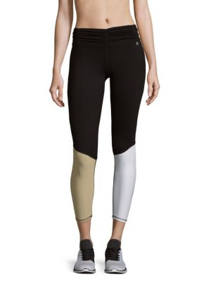 Paneled Pull-On Leggings Body Language