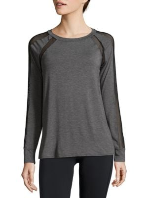 Pullover Long-Sleeve Top Body Language