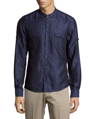 Steve Casual Button-Down Shirt HUGO BOSS