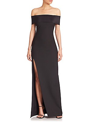 Eden Convertible Off-The-Shoulder Gown