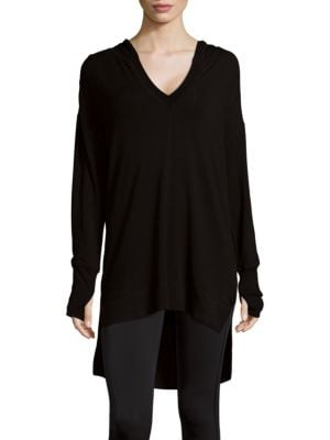 Hooded V-Neck Top MARC NEW YORK by ANDREW MARC