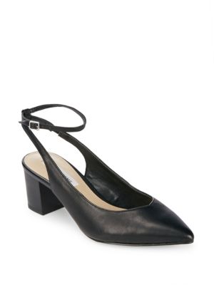 Reese Leather Ankle-Strap Pumps Saks Fifth Avenue