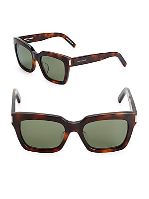54MM Rectangular Sunglasses