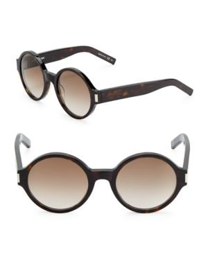 52MM Rounded Sunglasses