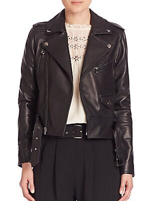 Cooper Leather Moto Jacket
