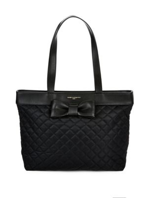 Quilted Zippered Tote Karl Lagerfeld