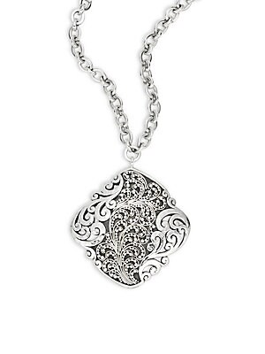 Click here for Diamond-Shaped Pendant Necklace prices