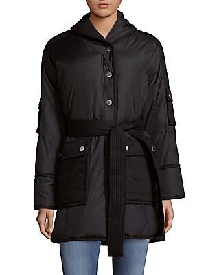 Blanket Puffer Coat