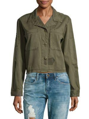 Lieutenant Fatigue Cotton Cropped Jacket