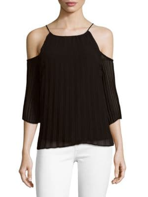 Pace Dusty Cold Shoulder Top