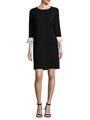 Layered Sleeve Mini Dress