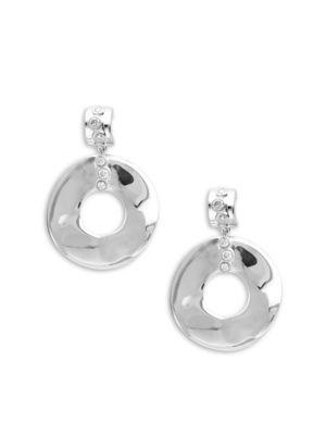 Diamond  Sterling Silver Glamazon Solid Fill Dangle  Drop Earrings IPPOLITA