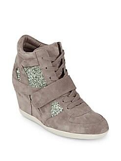 아쉬 ASH bowie wedge sneakers