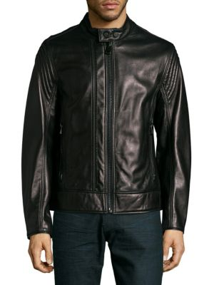 Windsor Leather Jacket Andrew Marc