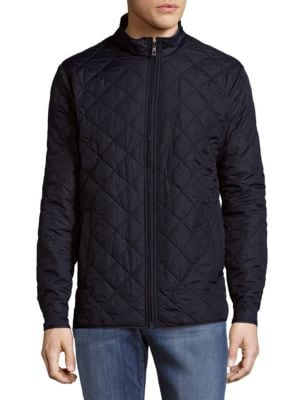 Diamond Quilted Jacket HAWKE   CO