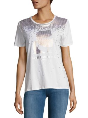 Short Sleeve Graphic Tee Karl Lagerfeld