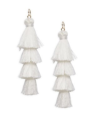 Click here for Layered Cotton Tassel Earring prices