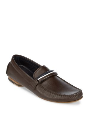 Slip-On Leather Drivers Canali