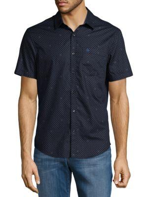 Dotted Casual Button-Down Shirt Original Penguin