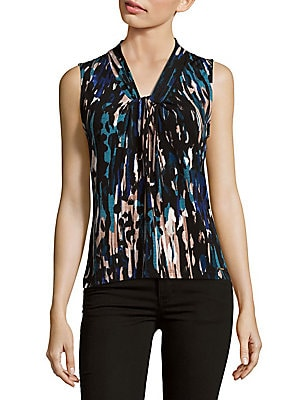 Printed Knot Camisole