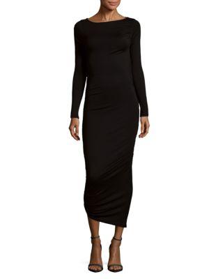 Sage Asymmetrical Bodycon Dress Rachel Pally