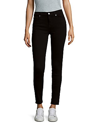 7 for all mankind female fivepocket skinny jeans