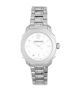 Stainless Steel Chain Bracelet Watch