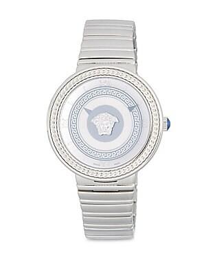 Stainless Steel Braided Trim Bracelet Watch