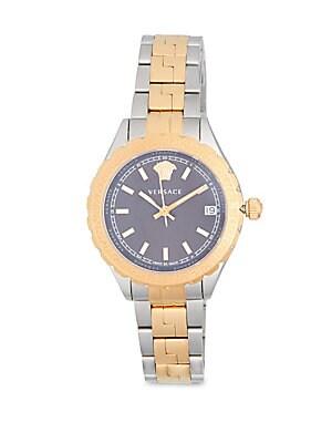 Polished Bicolor Bracelet Watch