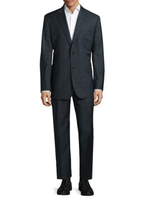Two-Button Wool Suit Saks Fifth Avenue