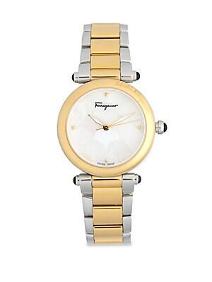 Idillio Bicolor Stainless Steel Bracelet Watch