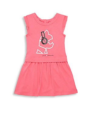 Little Girl's & Girl's Zippered Dress