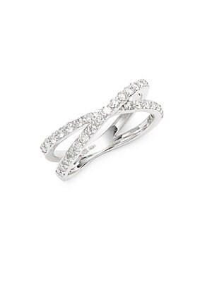 Click here for White Gold Cross Ring prices