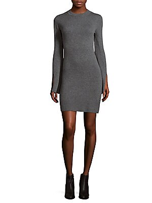 Cashmere Blend Sweater Dress