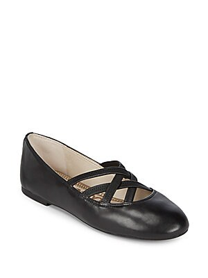 Frederick Leather Ballet Flats