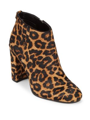 Cambell Leather  Fur Booties Sam Edelman