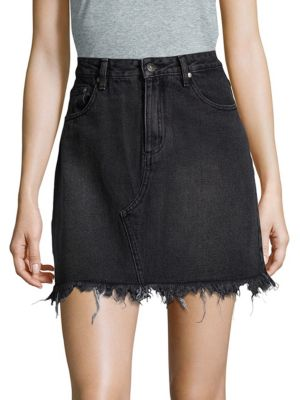 Sidewalk Classic Cotton Mini Skirt MINKPINK