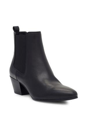 Reesa Leather Booties Sam Edelman