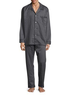 Diamond Cotton Pajamas Robert Graham