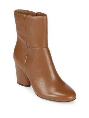 Nita Leather Booties Saks Fifth Avenue