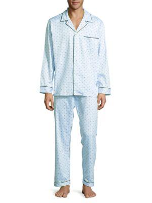 Dotted Cotton Pajamas Robert Graham