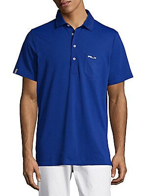 Active Fit Shirttail Polo