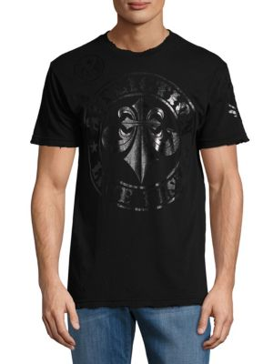 Graphic Cotton Tee American Fighter