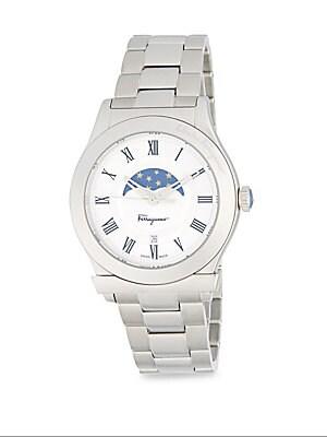 Stainless Steel Quartz Bracelet Watch