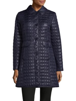 Bow Quilted Coat Kate Spade New York