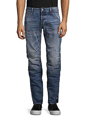 Deconstruct Cotton Jeans