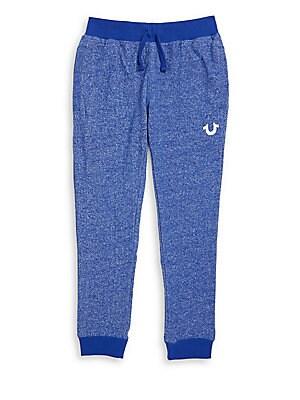 Boy's Royal Cotton Sweatpants