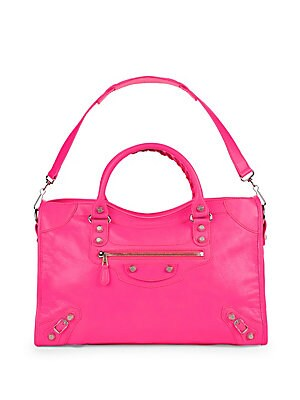 Chic Leather Handbag