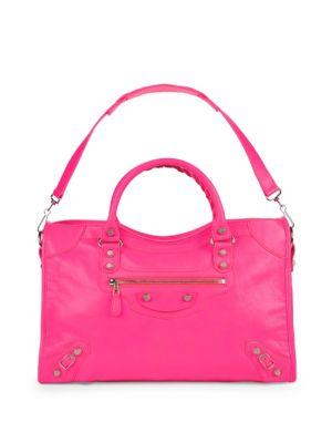 Chic Leather Handbag Balenciaga