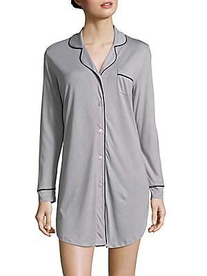 Holiday Long-Sleeve Sleepshirt